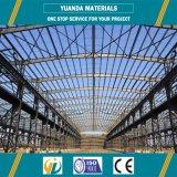 Grande structure métallique bottelée extérieure de bâti
