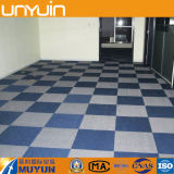 Azulejo del vinilo del PVC D-2, revestimiento de suelos del PVC, azulejo de la moqueta
