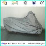 Tafetán recubierto de PVC suave tela cubre Moto Rainproof