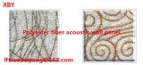 Scheda acustica della fibra di poliestere, comitato materiale dell'agente investigativo del comitato di soffitto del comitato di parete del comitato acustico della decorazione fonoassorbente