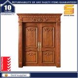 Außenhaus-Eingangs-feste hölzerne Mahagoniteakholz-Holz-Tür