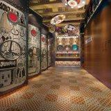 커피 룸 대중음식점 호텔 훈장 Sh6h003/04를 위한 벽 지면 도와 600*600 mm를 위한 예술에 의하여 윤이 나는 훈장 도와