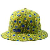 Bouchon personnalisé promotionnel Floral Fishierman Hat polyester coton Chapeau de godet