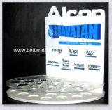 Étage cosmétique acrylique restant annonçant l'étalage Btr-B2019