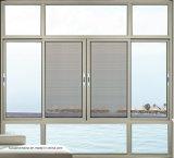 석쇠 디자인을%s 가진 Anti-Theft 강화 유리 알루미늄 여닫이 창 Windows