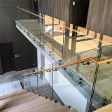 박판으로 만들어진 유리 가격, 강철 방책, 발코니 방책 디자인/강화 유리