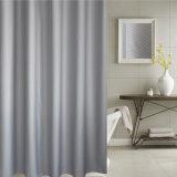 tenda di acquazzone impermeabile della stanza da bagno del jacquard della cialda 100%Polyester (02S0019)