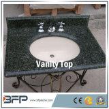 Le Style européen bon prix en granit bleu naturel Vanity Tops