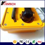 IP66 rendono il telefono resistente all'intemperie Knsp-10 della manopola di velocità dei telefoni del IP da Kntech