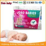 Tecidos sonolentos, bebê descartável da tração acima dos tecidos do bebê