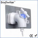 Carregador da parede do USB da torneira da luz do diodo emissor de luz (XH-UC-029)