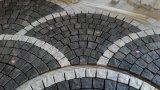 Zp Black Basalto Cobblestone Pavimentación Natural Split Cubes Cobble