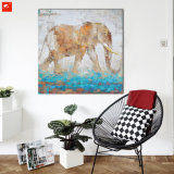 Tier-Tierwand-Abbildung-Elefant-Ölgemälde