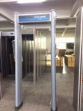 Zonas populares 6 paseo a través del detector de metales cilíndrico paseo a través de la puerta