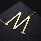 Halsband van de Tegenhanger van de Brieven van het Roestvrij staal van de Juwelen van de manier de Engelse voor Kleren