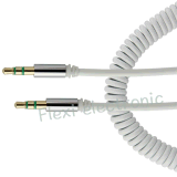 Salida de cable AV de 3,5 mm macho a hembra cable retráctil