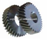 Engranaje de goma flexible del motor de la rueda de aire del negro industrial de los compresores