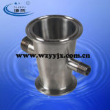 Extractor Parts-- Triclamp Reductor X Macho NPT