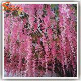 광저우 도매 결혼식 훈장 인공 꽃 나무
