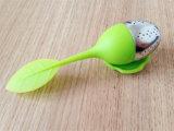 Чай Infuser силикона оптовых листьев цветастый