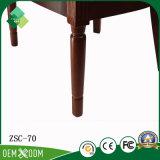 Re Throne Chair Wood Armchair di stile dell'annata per il salone
