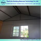 La casa prefabricada se dirige el chalet prefabricado de acero del marco de acero de la estructura de la luz ligera de la casa