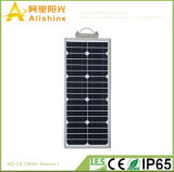 Indicatore luminoso di via solare Integrated su ordine 15W che accetta i piccoli ordini dell'OEM