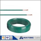 Enduit de PVC seul brin de fil électrique fil électrique en cuivre