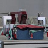Sofa-Materialoberfläche-Widerstand zum Naht-Verschiebungstest in der Polsterung Gewebe-Garn Abrutschen-Widerstand-Prüfung
