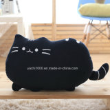 Lovely Cartoon Design Peluche Peluche Jouet Noire Chat