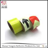 Bande de recouvrement r3fléchissante auto-adhésive de PVC de vente chaude