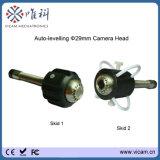 De mini 29mm ZelfCamera van de Inspectie van de Pijp van het Riool van het Niveau Video met 20m tot 50m de Spoel van de Kabel van de Glasvezel