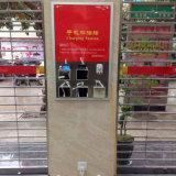 Стена заряжателя сотового телефона 15 портов устанавливая передвижную зарядную станцию