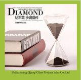 ダイヤモンドの形のガラス砂のタイマーの卸売
