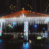 Indicatori luminosi di natale commerciali chiari infiammanti domestici del ghiacciolo della decorazione LED di lampeggiamento