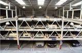 Struttura d'acciaio usata sul garage tridimensionale