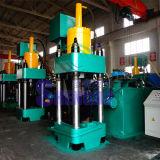 Automatisches Altmetall-Roheisen-Splitterung-Brikett, das Maschine herstellt