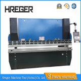 Marca Hreger CNC máquina de doblado de acero de prensa de doblado NC