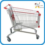 180L Europe Style Shopping Cart Shopping Trolley