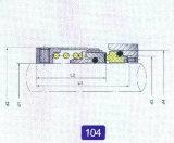 Mechanische Dichtung für Pumpe (104)