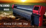 Impressora solvente de Konica512I com 4 cabeças de cópia
