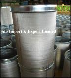 L'eau de treillis métallique de l'acier inoxydable 316/filtre cylindre de gas/pétrole
