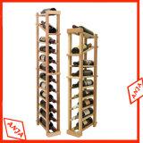 Vino de la moda de madera Mostrar Rack para Tienda de vinos