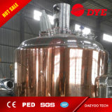 bouilloire de Brew de machine de la brasserie 1000L/fermenteur de cuivre rouge de bière/réservoirs lumineux de bière