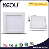 높은 CRI Ultra-Thin 둥글거나 정연한 LED 위원회 천장