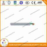 UL1569 Cable Metálico tipo Mc Cable Cable de alimentación de 600v.