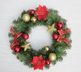 Casamento e grinaldas de Natal para Home&Decoração de férias