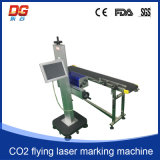 Горячее СО2 летая машина маркировки гравировки лазера