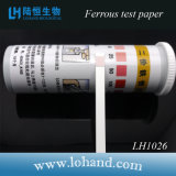 Papel de prueba ferroso de Hotsale 100/Box (cayó) Lh1026