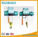 Élévateur électrique de câble métallique d'élévateur de double crochet pour traiter matériel